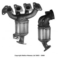 VAUXHALL MERIVA 1.4 10/04 on Catalytic Converter BM91383H