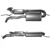 SMART FORTWO 1.0 01/07-05/10 Catalytic Converter BM91590H