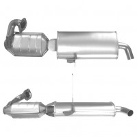 SMART CITY COUPE 0.6 07/98-02/01 Catalytic Converter