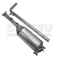 RENAULT Grand Kangoo 1.9 01/06-01/09 Diesel Particulate Filter