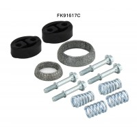 TOYOTA PRIUS 1.5 11/03-12/09 Catalytic Converter Fitting Kit FK91617C