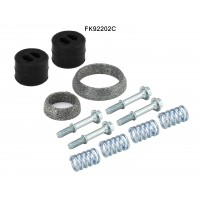 TOYOTA AURIS 1.8 10/12-08/15 Catalytic Converter Fitting Kit FK92202C