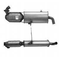 SMART FORTWO 0.8 01/04-01/07 Catalytic Converter BM80599H